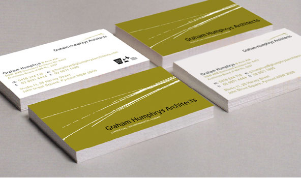 Corporate identity for an architectural firm